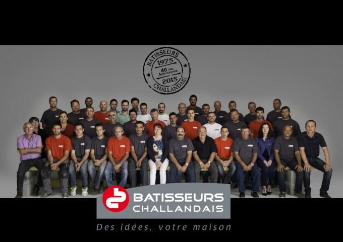 équipe Bâtisseurs Challandais