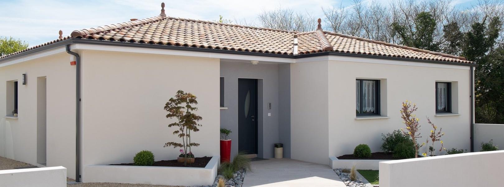 Constructeur maison 44 milcendeau maison moderne for Maison bati