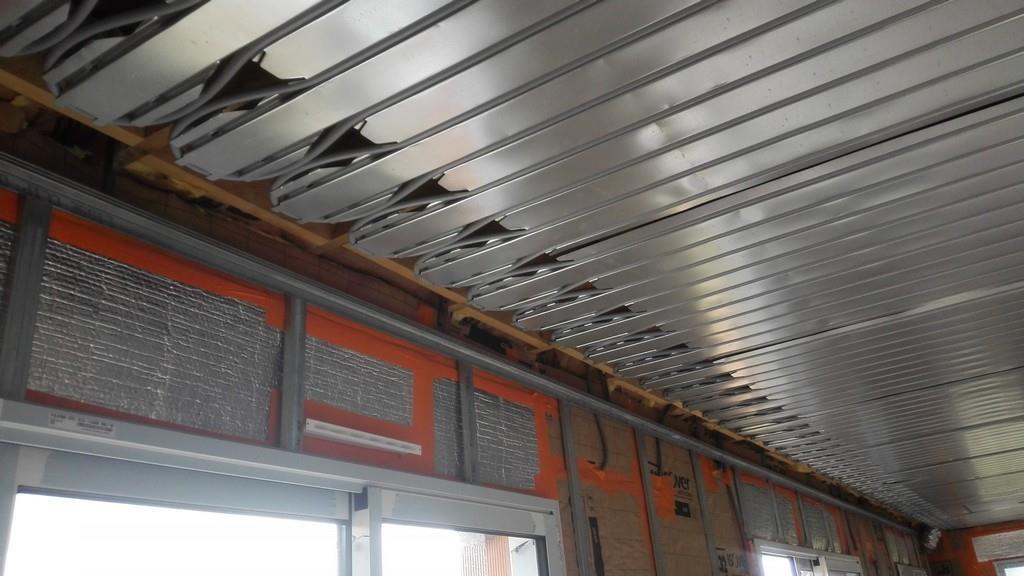 Plafond v g tal vu de dessous museum national d histoire for Faux plafond chauffant