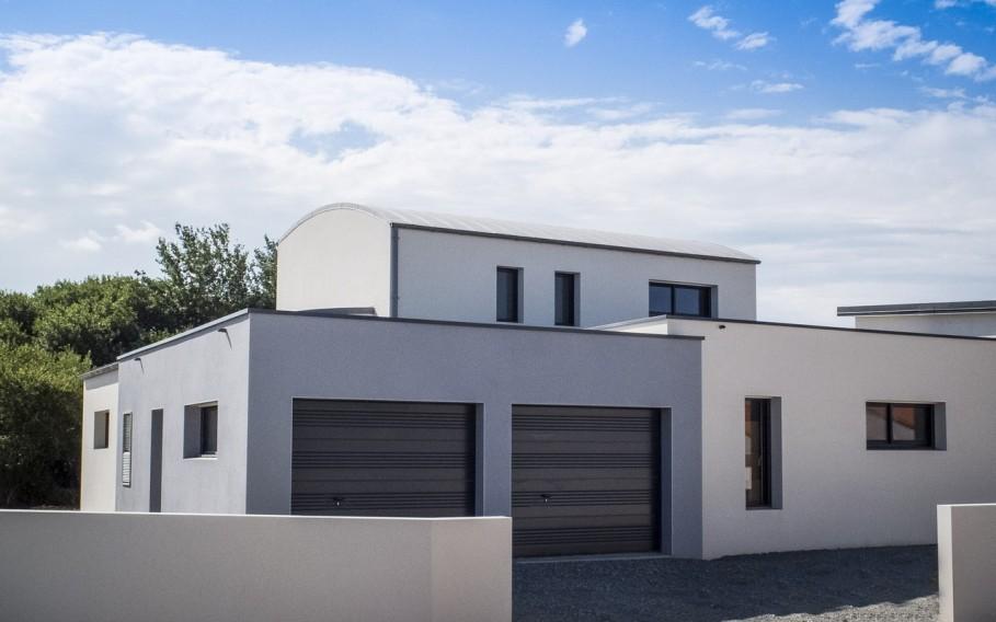 Maisons avec toit terrasse