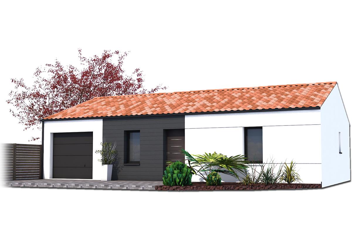 Projet de maison traditionnelle pour investissement locatif