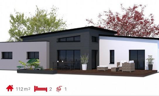 Le petit sochard b tisseurs challandais constructeur for Constructeur maison moderne vendee