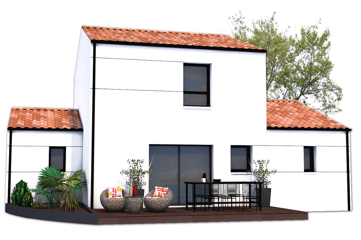 Projet de maison moderne pour jeune couple