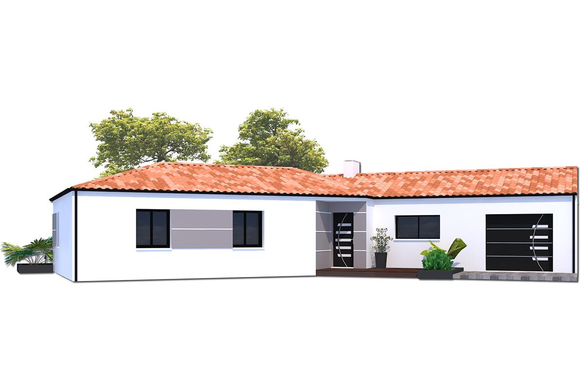 Projet de maison lumineuse en Vendée