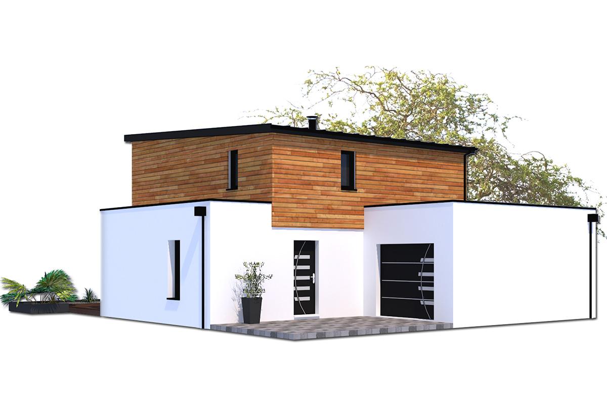Projet de maison à ossature bois en Vendée