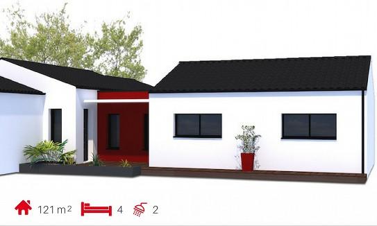 Le veillon b tisseurs challandais constructeur de for Constructeur maison moderne vendee
