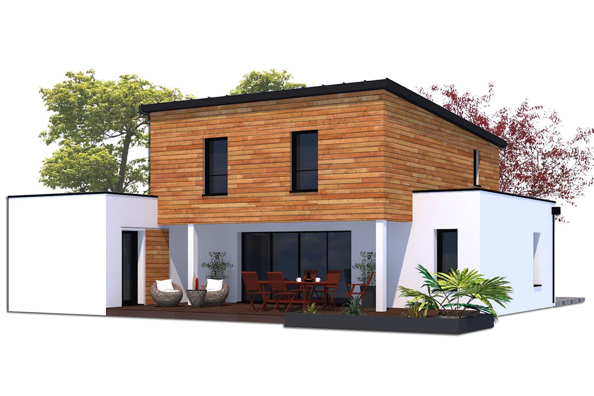 Projet de maison à ossature bois en Loire-Atlantique