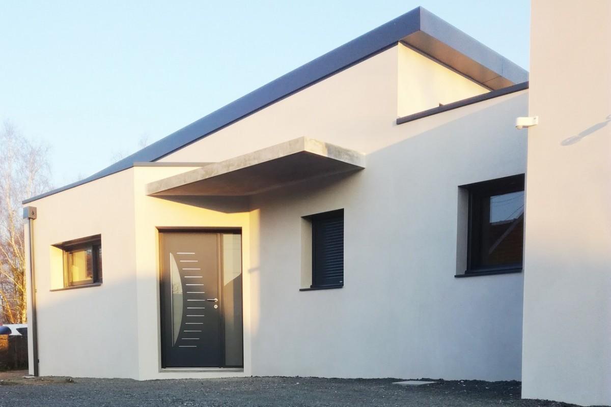 Maison contemporaine à Bouaye