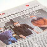 Ouest France | Article sur notre nouvelle agence